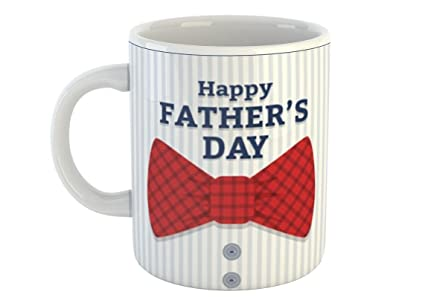 office gifts for dad. Happy Fathers Day Office Dad Style White Coffee Mug 330 Ml - Special Gift For Gifts O