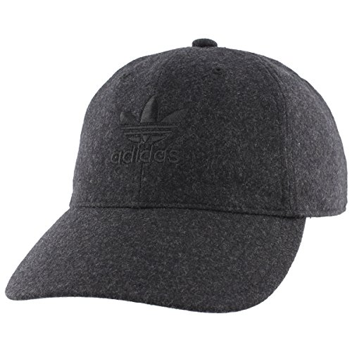 nals Relaxed Plus Adjustable Strapback Cap, Black/Black, One Size ()