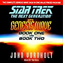 Star Trek, The Next Generation: The Genesis Wave, Book 2 (Adapted) Audiobook by John Vornholt Narrated by TIm Russ
