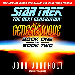 Star Trek, The Next Generation: The Genesis Wave, Book 2 (Adapted) Audiobook