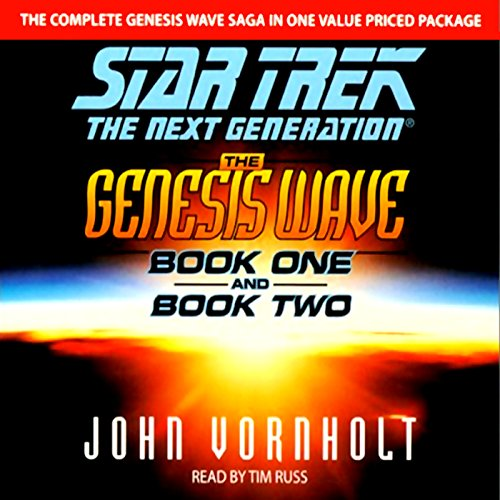 Star Trek, The Next Generation: The Genesis Wave, Book 2 (Adapted) Audiobook [Free Download by Trial] thumbnail