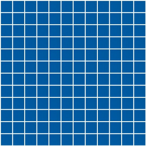 Susan Jablon Mosaics - 1 Inch Cobalt Blue Mirror Glass -
