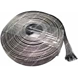 """Electriduct 1/2"""" Stainless Steel Braided Sleeving (304SS) - Length: 10 Feet"""