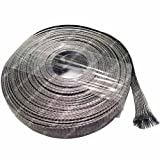 5/8'' Stainless Steel Braided Sleeving (304SS) - Length: 100 Feet