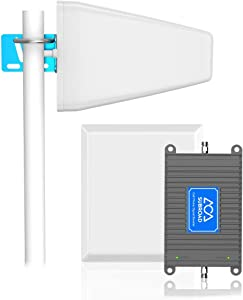 Cell Phone Signal Booster for Home & Office Band 13 700MHz Verizon 4G LTE FDD Cellular Amplifier Repeater Kits Verizon Signal Extender Supports Up to 5,000 sq ft, Boosts 4G LTE Voice and Data
