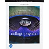 Student Workbook for College Physics: A Strategic Approach Volume 1 (Chs 1-16)