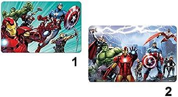 Juego de posavasos de mesa escritorio 3d Avengers Marvel – Repas Garcon – modele2 – 677: Amazon.es: Electrónica