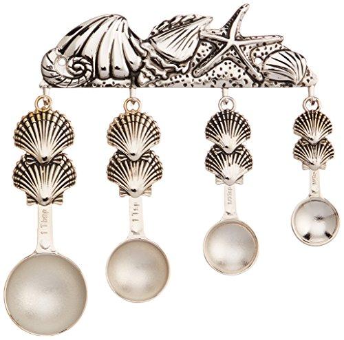 4 Piece Shells Measuring Spoon Set