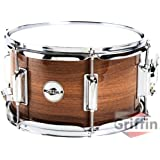 "Griffin Popcorn Snare Drum 10"" x 6"" Black Hickory Wood Shell Firecracker Soprano Percussion Poplar"