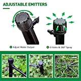 MIXC 100PCS Drip Emitters Sprayer with Stake
