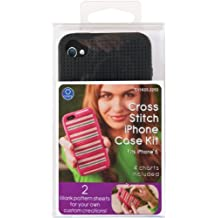 iPhone 5 Case Counted Cross Stitch Kit, Black
