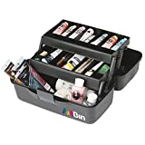 ArtBin Essentials Two Tray Art Tote-Black
