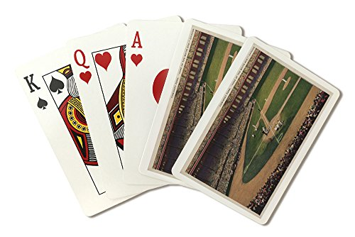 Chicago, Illinois - Comiskey Park, Home Plate, Baseball - Vintage Photograph (Playing Card Deck - 52 Card Poker Size with Jokers)