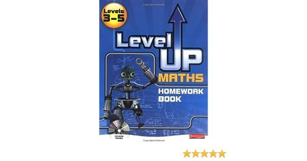 Level Up Maths: Homework Book (Level 3-5): 9780435537388: Amazon ...