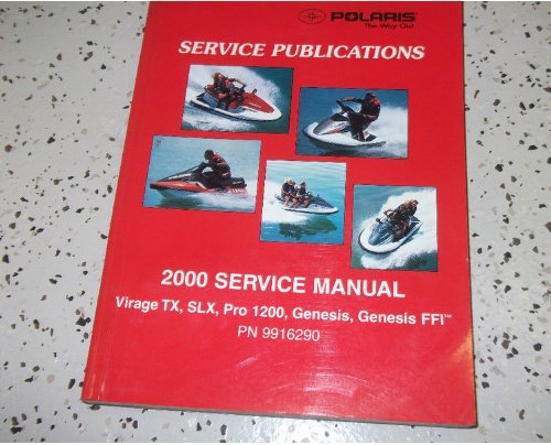 2000 polaris watercraft virage tx slx pro 1200 genesis service shop rh amazon com 2000 polaris virage owners manual 2001 polaris virage owners manual