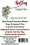 RED FROG ULTIMATE VEG Compost Tea; 3 bs Organic Soil Minerals & Nutrients Boosts Both Plant & Root Growth/Health;Best Feeds and Trace Minerals in A Fertilizer/Soil Amendment/Plant Food offers