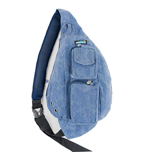 Meru Sling Backpack Bag - Small Single Strap Crossbody Pack for Women and Men (Acid Blue) ()