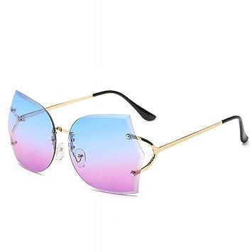 CN Gafas de Sol sin Marco, Americana, Moda, Gafas oceánicas ...