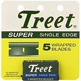 Treet Super Single Edge 5 Wrapped Blades
