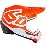 6D ATR-1Y Macro YOUTH Helmets (X-Large, Neon Orange)