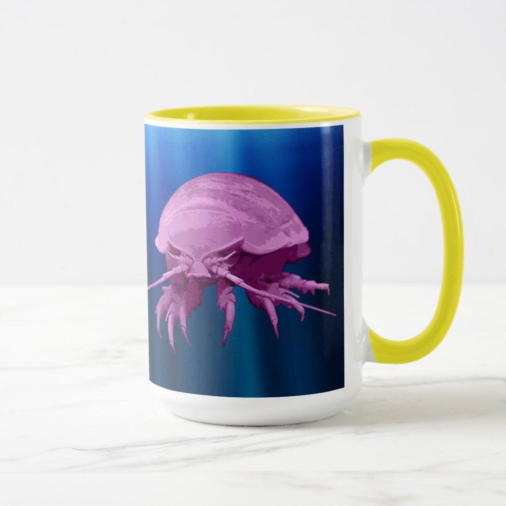 Zazzle Giant isopodマグ 15 oz, Combo Mug イエロー cd527c36-4864-c7b6-7cf8-2899a2b093f8 B078F17DNR  イエロー 15 oz, Combo Mug