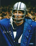 Autographed Bob Lilly 8x10 Dallas Cowboys Photo Tristar