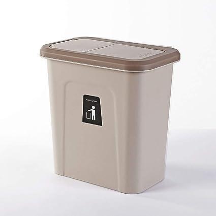 Amazon.com: Hanging Rectangular Trash Can Member, Kitchen ...
