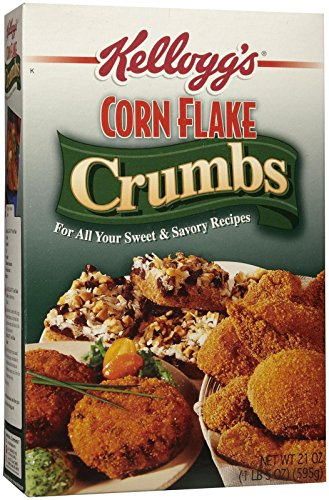 Kellogg's Corn Flake Crumbs, 21 oz Boxes