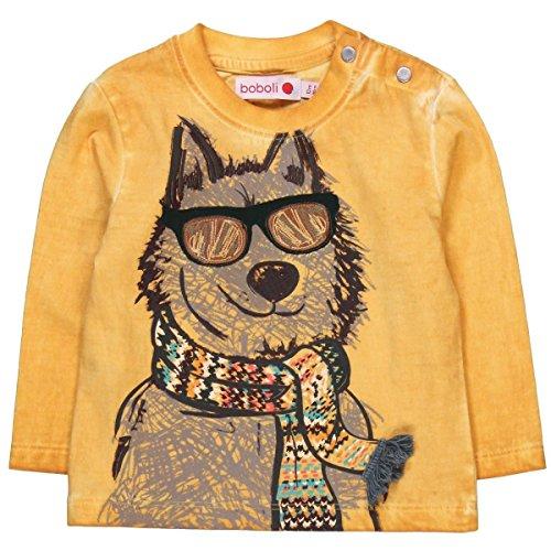 12a09b919584 Boboli Camiseta Punto Liso De Bebé Niño Para Bebé Niño Caliente de ...