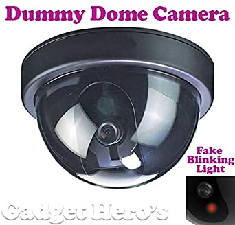 Gadget Hero's Dummy Security CCTV Dome Camera With Fake