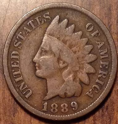 1889 U.S. Indian Head Cent / Indian Head Penny Good and Better