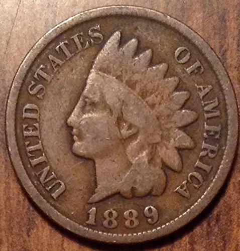 1889 U.S. Indian Head Cent / Indian Head Penny Good and Better (Coin Indian Cent)
