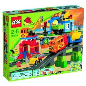LEGO ( Lego ) Lego ( Lego ) -Duplo ( Duplo ) Deluxe Train Set 10508 block toys ( parallel imports )