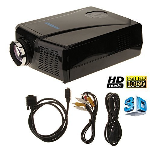 2200 lumens 3d lcd projector with hdmi input mini home theater