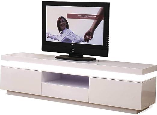 Habitat et Jardin – Mueble TV LED Ruth – 170 x 40 x 45,5 cm ...