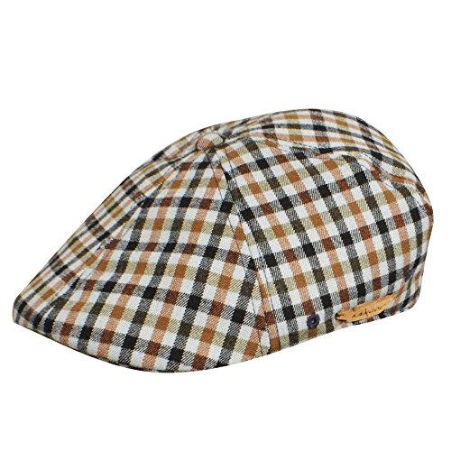 Kangol K1779CO Mens Plaid 504 Hat, Paddington Check-L/XL ()