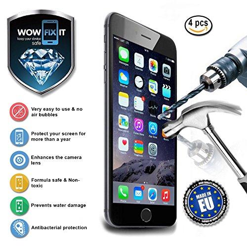 WOWFIXIT For 4   Flüssiger Displayschutz Für Smartphones Und Tablets  (4er Set)
