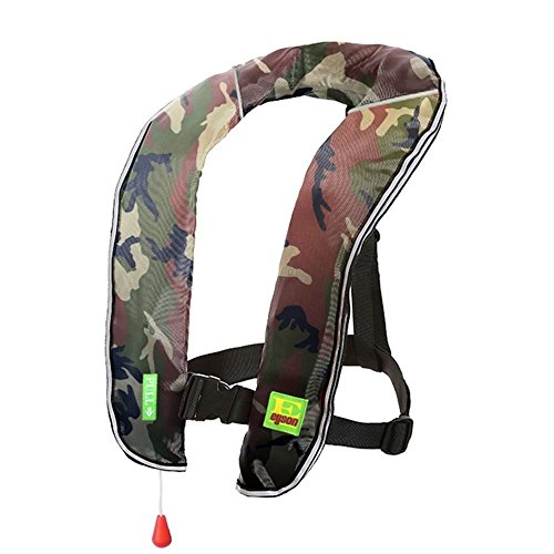 Cheap Lifesaving Pro Premium Auto/Manual Inflatable PFD Survival Buoyancy, Hunting/Fishing Kayaking Boating Canoeing Paddling Sailing Sup Life Jacket Classic Design