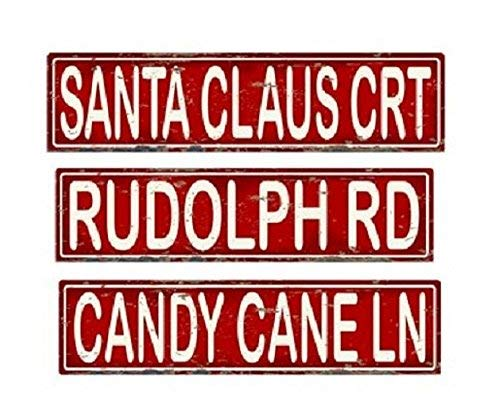 Christmas Street Signs | 16