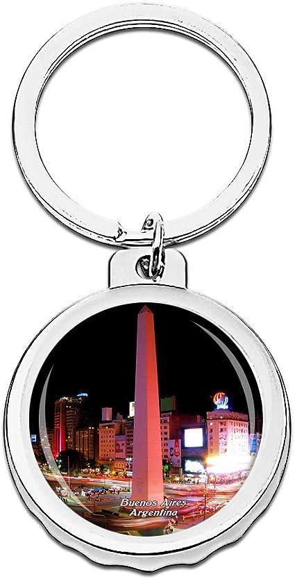 Hqiyaols Keychain Argentina El Obelisco Buenos Aires Gorra ...