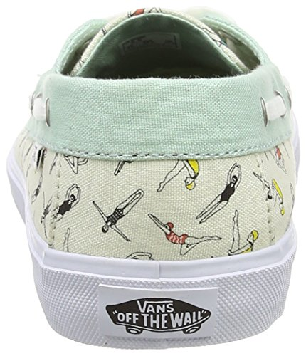 Vans Chauffette Sf - Zapatillas Mujer Multicolor (swimmers/gossamer Green/classic White)