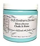 About our chalk It paint: What's all the buzz about the chalk It paint finish? Well, first, our paints are blended and poured for you right here in the U.S.A. Brought to you from the deep south, where the porches are long and the tea is sweet...