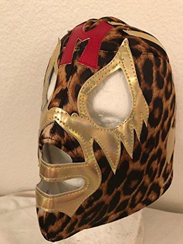 [Mil Mascaras El Santo Blue Demon black tiger mask LUCHA LIBRE MASK UNDERGROUND PENTAGON JR NACHO LIBRE SIN] (Childrens Nacho Libre Costume)