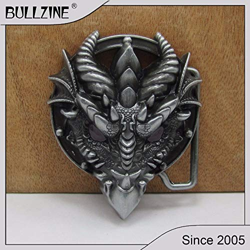- CUSHY The Bullzine Dragon Head with Pewter Finish FP-02885 Suitable for 4cm Width