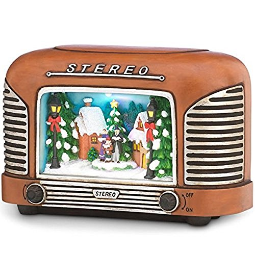 lenox antique holiday lighted and musical -