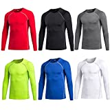 Maoko Men's Fitness Compression Baselayer Long Sleeves Athletic Shirts (31 Styles)