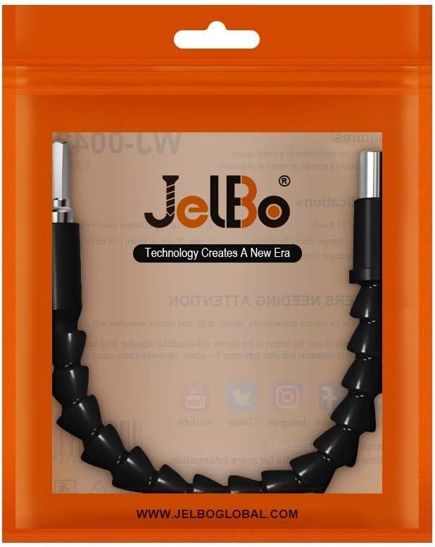 JelBo - Brocas de extensión de eje flexible de 11.8 in