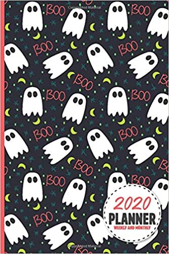 Halloween 2020 Quotes Spooky Halloween Boo Ghost 2020 Planner Weekly And Monthly