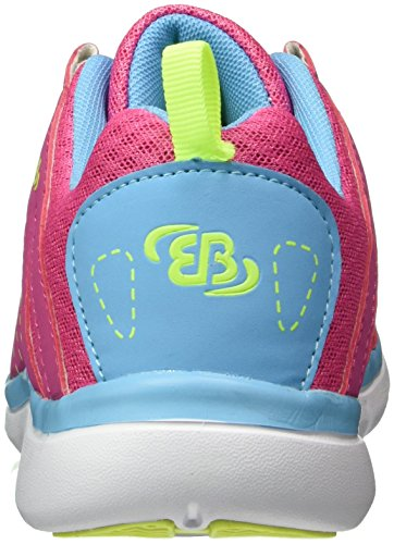 Bruetting Crater, Zapatillas para Mujer Rosa (PINK/BLAU/LEMON)