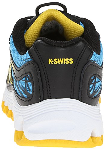 Pictures of K-Swiss Tubes 151 Mesh PS Crosstraining Blue/Black/Yellow 8